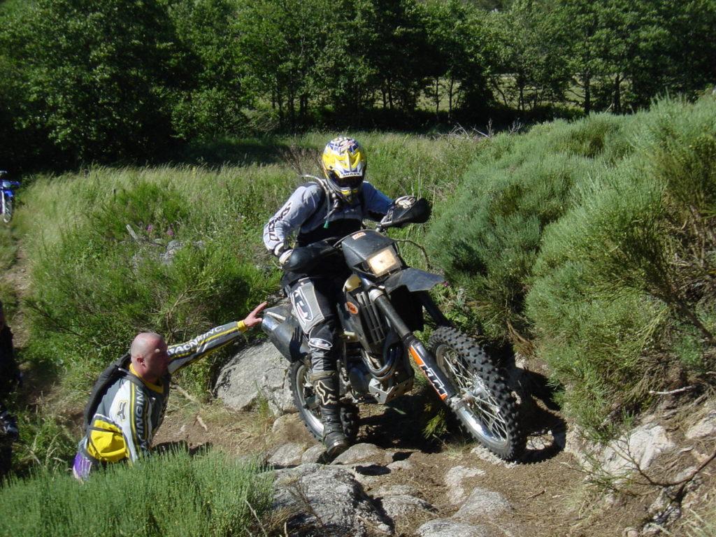 Val D'allier. Randonée moto enduro tout terrain avec SudRando