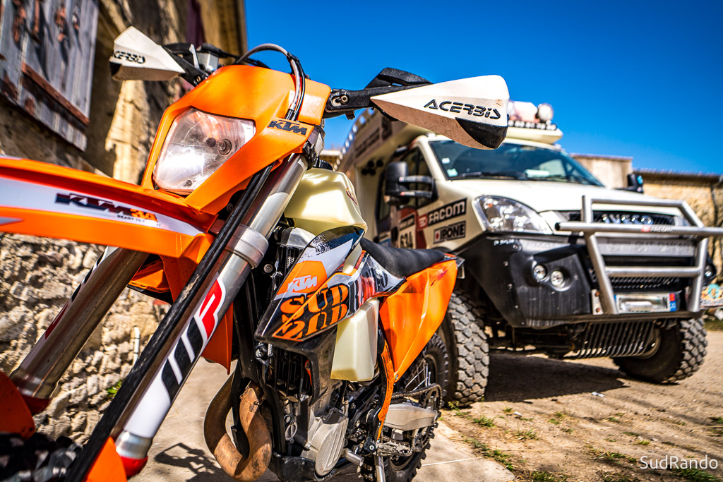 rando moto trail, assistance raid moto