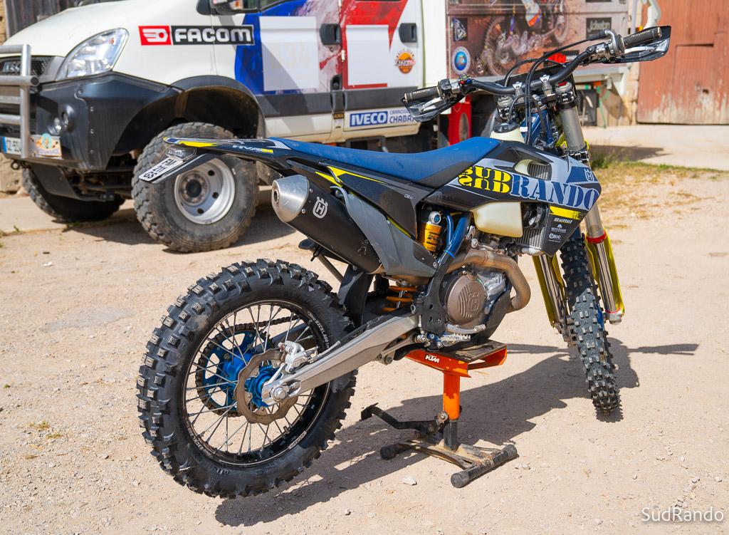 sudrando rando moto HVA 450